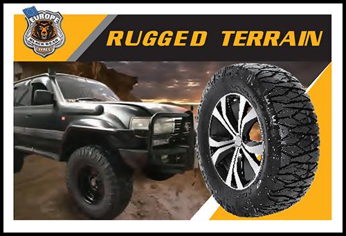 Rugged Terrain Black Bear Tyres